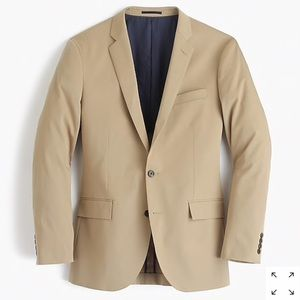 J. Crew Ludlow cotton twill stretch chino jacket